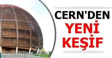 CERN'den Yeni Keşif