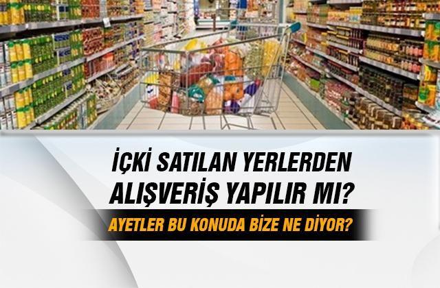 İçki satılan yerlerden alışveriş yapılır mı? Ahmet Karataş cevapladı