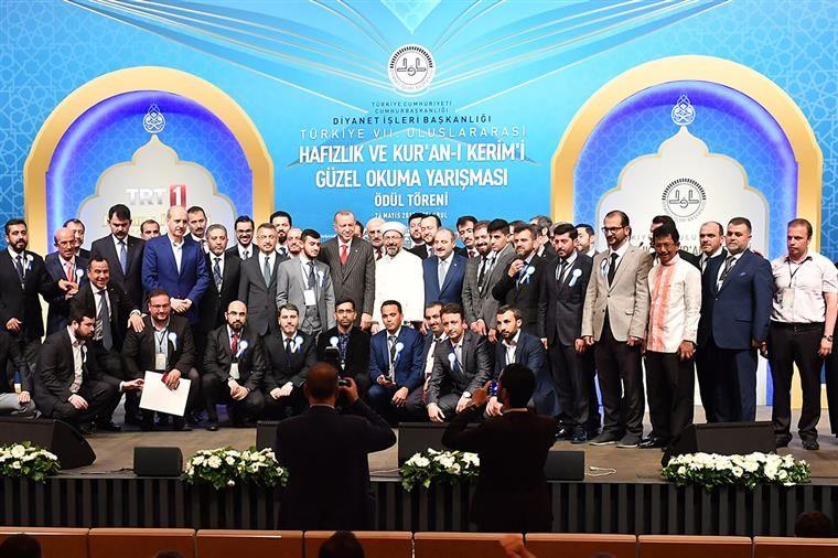 Kur'an-ı Kerim'i ve ezanı güzel okuma yarışmaları ödül töreni yapıldı