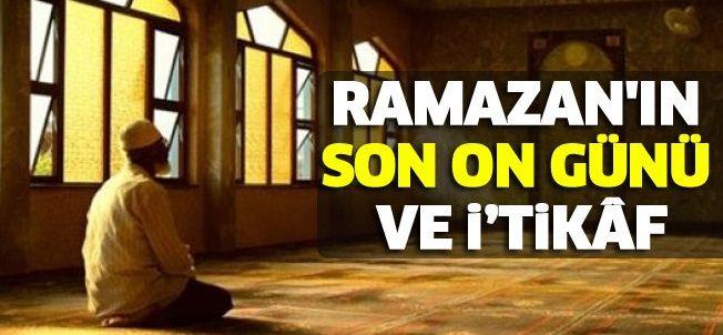 Ramazan Ayı'nın son on günü