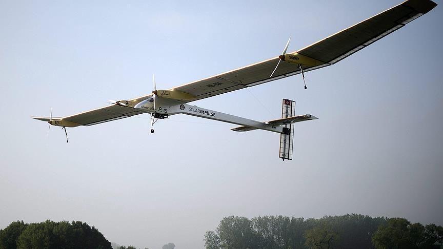 'Solar Impulse 2' dünya turunun 11. etabına başladı