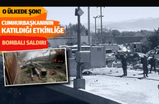 Ülke şokta! Afganistan Cumhurbaşkanı Gani'nin katıldığı etkinliğe bombalı saldırı