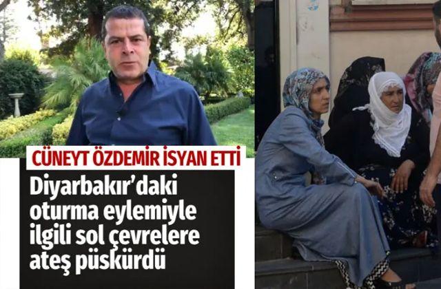 Cüneyt Özdemir Diyarbakır'daki eylemi görmezden gelen sol çevrelere isyan etti