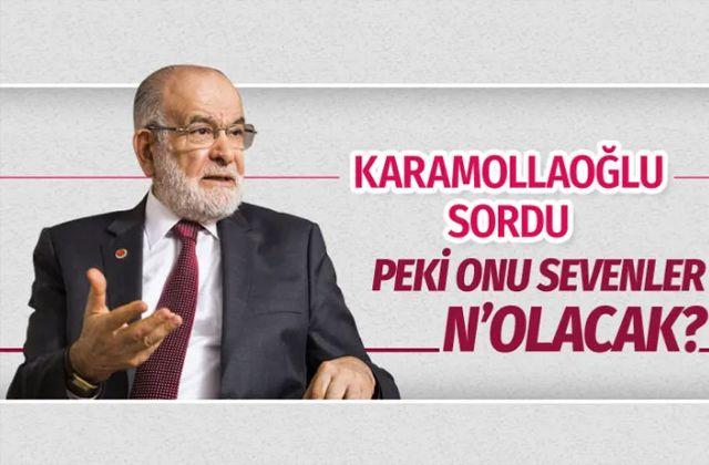 Temel Karamollaoğlu Kaftancıoğlu'na destek verip sordu: Peki onu sevenler n'olacak?