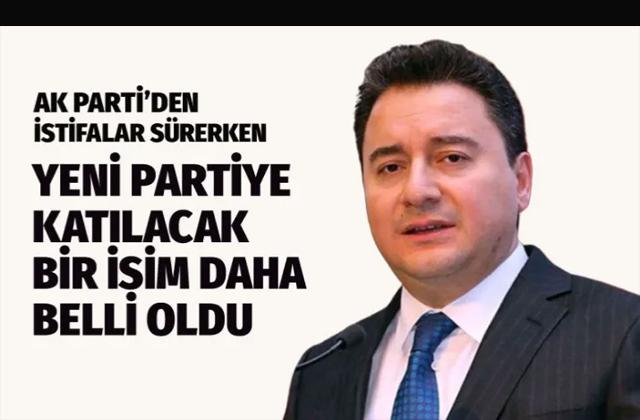 Eski Trabzon Milletvekili Kemalettin Göktaş da Ali Babacan'ın partisine katılacak iddiası