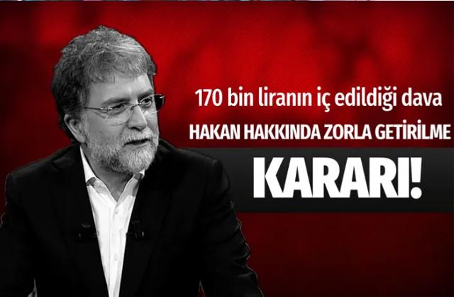 Gazeteci Ahmet Hakan hakkında zorla getirme kararı!