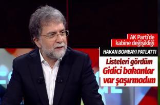 Ahmet Hakan'dan AK Parti'de kabine revizyonu bombası: Listeyi gördüm bazı bakanlar gidici
