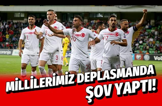 Moldova Türkiye milli maçı golleri ve geniş özeti