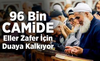 96 bin camide Fetih Suresi okunuyor, zafer duası ediliyor