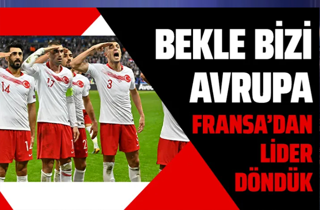 Fransa Türkiye maçı golleri ve geniş özeti