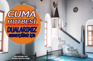 """25 Ekim 2019 tarihli Diyanet Cuma Hutbesi, """"Dualarımız Mehmetçiğimiz İçin"""""""