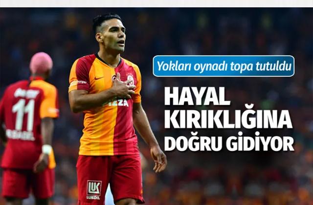 Galatasaray PSG'ye direnemedi Falcao hayal kırıklığı yarattı