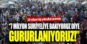 """Murat Muratoğlu: """"7 milyon Suriyeliye bakıyoruz diye gururlanıyoruz"""""""