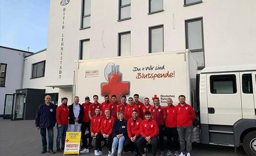 DİTİB'den kan bağışına destek