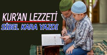 KUR'AN LEZZETİ