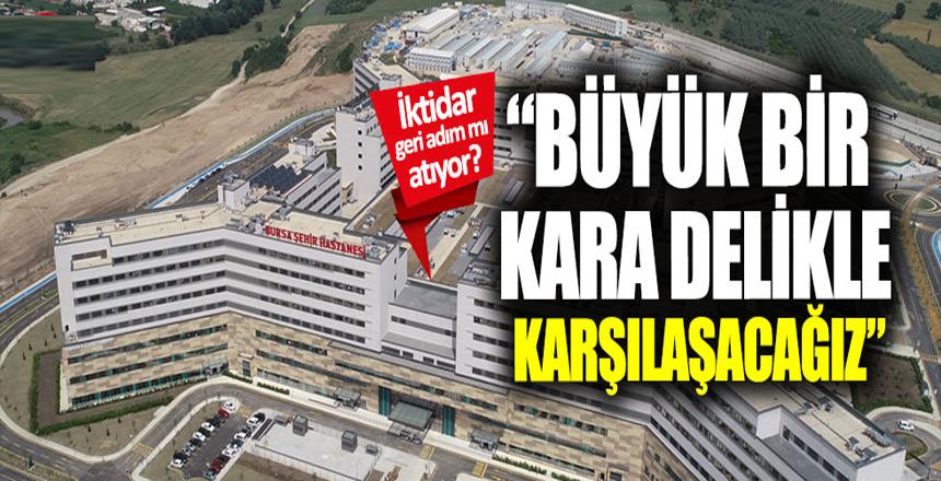 """Şehir hastanelerindeki mali yük: """"Kara delik"""""""
