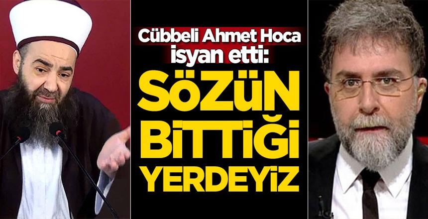 Cübbeli Ahmet Hoca, Ahmet Hakan konusunda isyan etti: Sözün bittiği yerdeyiz