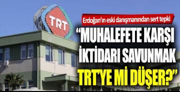 """Akif Beki: """"Muhalefete karşı iktidarı savunmak TRT'ye mi düşer?"""