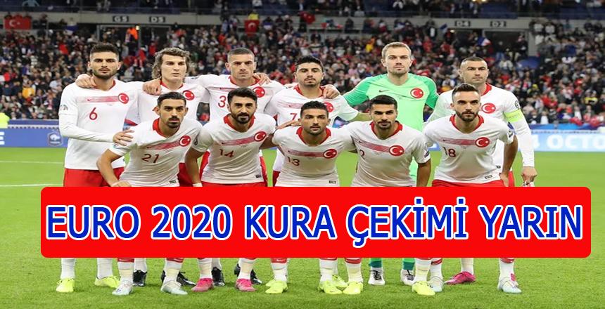 Bükreş'te yapılacak EURO 2020 kura çekimi heyecanla bekleniyor
