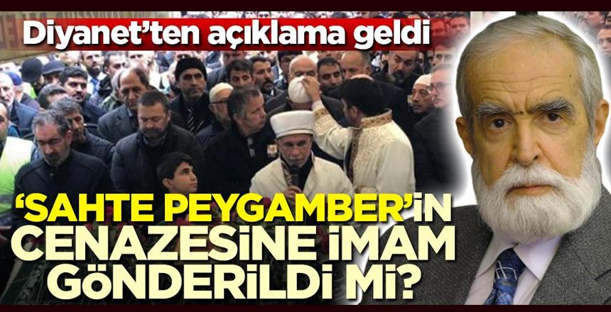 Sahte Peygamber'in cenazesine imam gönderildi mi? Diyanet'ten açıklama geldi