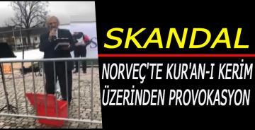 Norveç'te Kur'an-ı Kerim üzerinden provokasyon