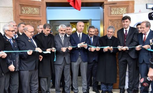 Gaziler Camii dualarla açıldı