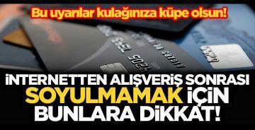 Kredi kartı bilgileri çalındı mı? İnternetten alışveriş yaparken nelere dikkat etmeliyiz?