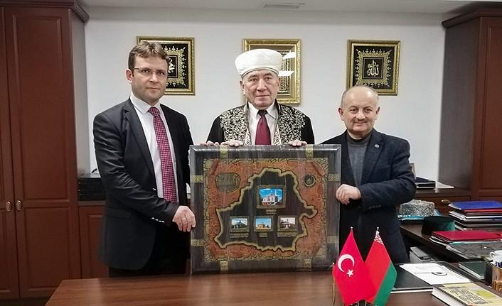 Malatya Müftülüğünden Belarus Müslüman Dini Birliği'ne Destek