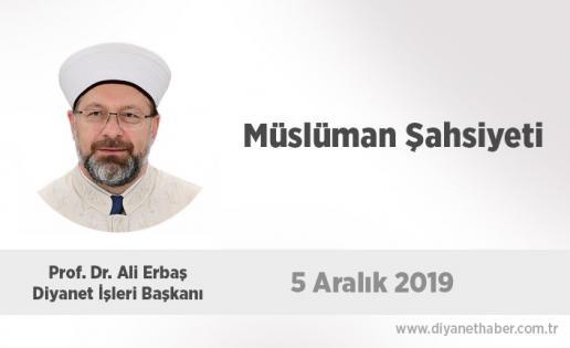 Müslüman Şahsiyeti