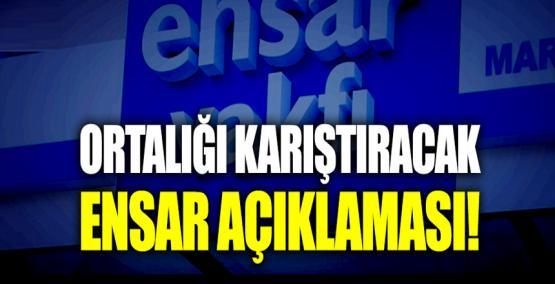 CHP'li Serkan Topal'dan ortalığı karıştıracak Ensar açıklaması!
