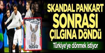 Skandal pankart sonrası çılgına döndü! Marcelo Türkiye'ye dönmek istiyor