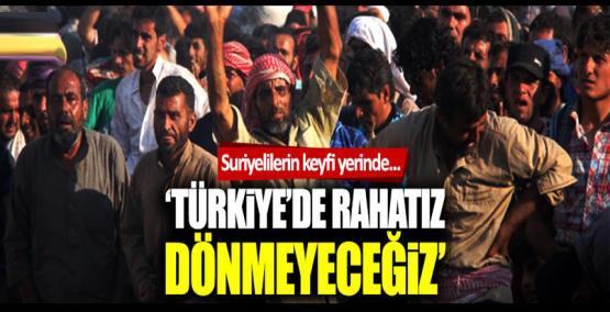 Türkiye'deki Suriyelilerin yüzde 44'ü güvenli bölgeye gitmeyi düşünmüyor