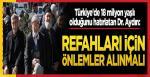Türkiye'de 18 milyon yaşlı olduğunu hatırlatan Dr. Aydın: Yaşlılarımızın refahı için önlemler alınmalı