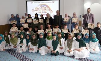"""Yunus Emre Camii'nde """"Siyer-i Nebi Bilgi Yarışması"""" düzenlendi"""