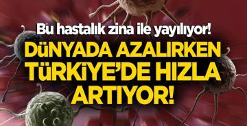 Zina hastalıkları için kırmızı alarm! Dünyada azalırken Türkiye'de hızla artıyor!