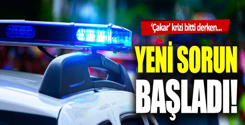 İstanbul'da 'çakar' krizi bitti derken yenisi başladı!