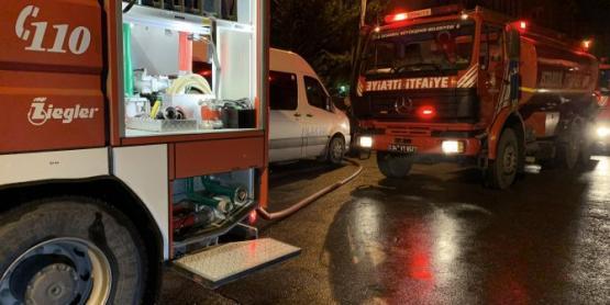 Ümraniye'de Kuran kursunda yangın