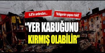 """Elazığ depreminin ardından konuştu: """"Yer kabuğunu kırmış olabilir"""""""