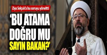 Ali Erbaş'ın kardeşi Metin Erbaş usulsüz mü atandı?