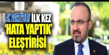 Bülent Turan'dan partisine özgüven eleştirisi