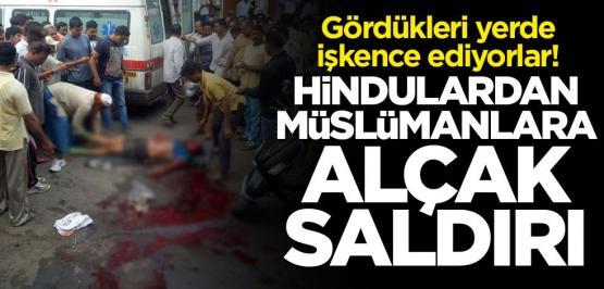 Hindulardan Müslümanlara alçak saldırı: 37 kişi hayatını kaybetti