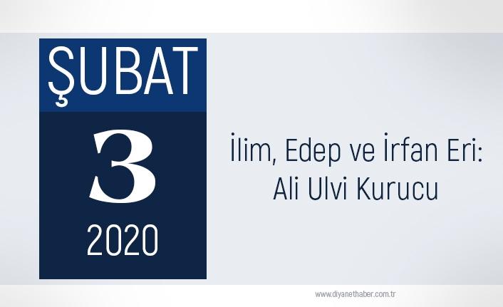 İlim, Edep ve İrfan Eri Ali Ulvi Kurucu
