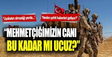 CHP'li Faik Öztrak: Mehmetçiğimizin canı bu kadar mı ucuz?